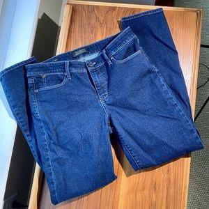 Talbots Flawless slim ankle 5-pocket jeans Size 8
